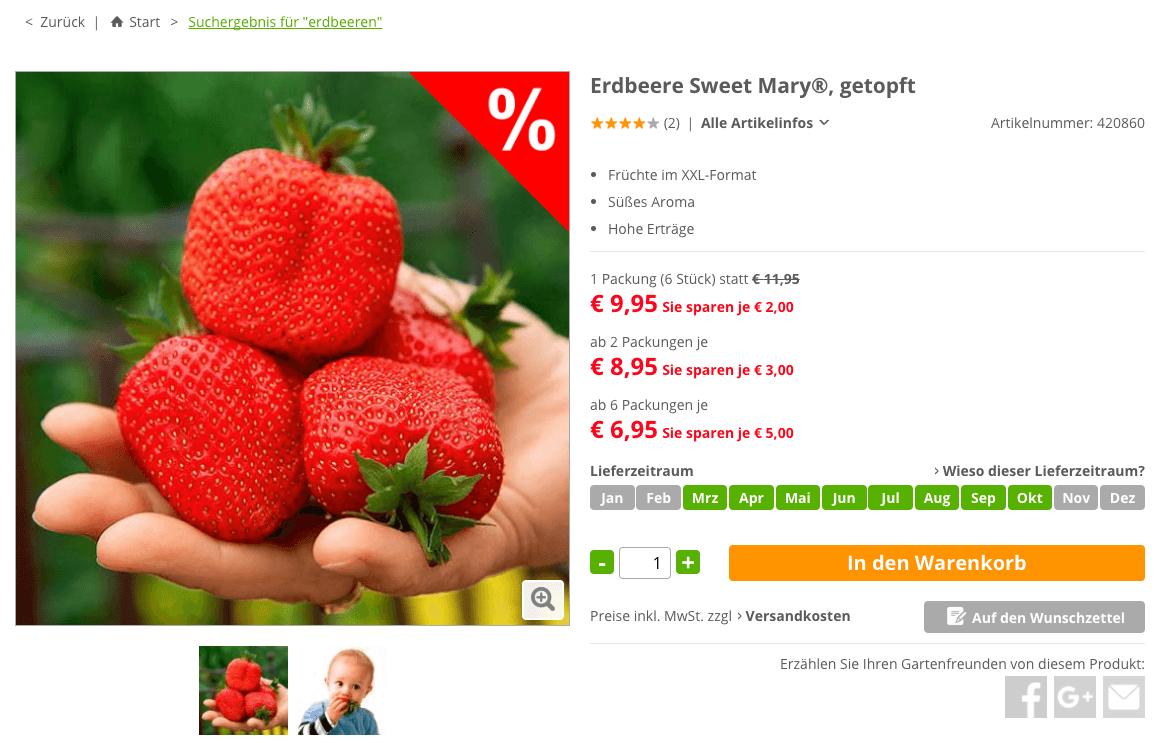 pötschke erdbeeren