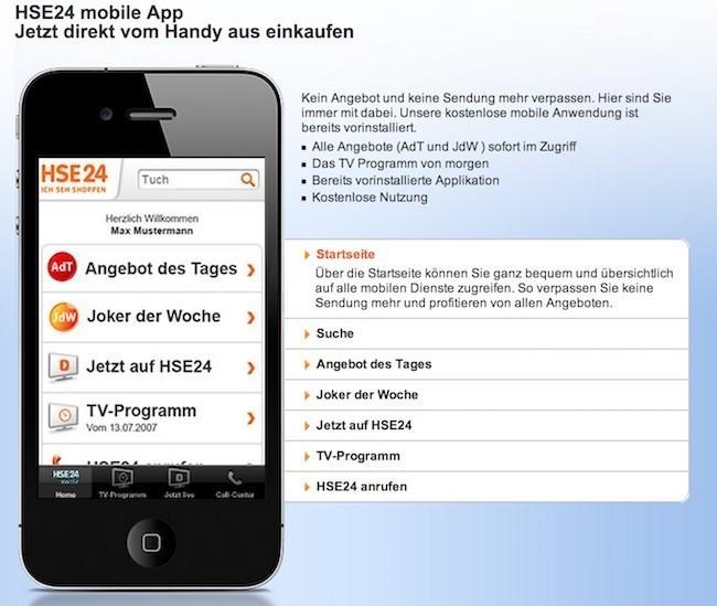 Hse24 App